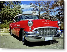 Acrylic Print featuring the photograph Buick by Paul Svensen