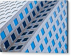 Building Abstract In Long Beach Acrylic Print