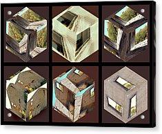 Building Blocks Acrylic Print by Irma BACKELANT GALLERIES