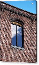 Acrylic Print featuring the photograph Building Series - Sky Views by Kathleen Grace