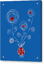 Bulb Flower Acrylic Print by Frank Tschakert