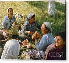 Bulgaria: Peasants Acrylic Print by Granger