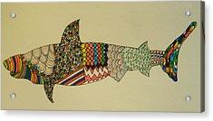 Bull Shark Acrylic Print