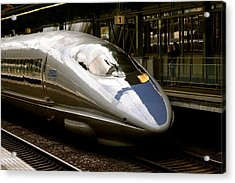 Bullet Train Acrylic Print by Jerry Patterson