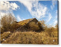 Bunker Down Acrylic Print by CJ Schmit