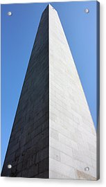 Bunker Hill Monument Acrylic Print by Kristin Elmquist