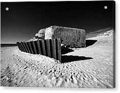 Bunker Acrylic Print by Holger Ostwald