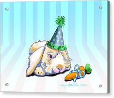 Bunny Present Acrylic Print