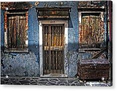 Burano - Venezia Acrylic Print by Joana Kruse
