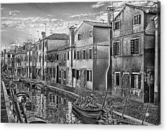 Burano 3 Acrylic Print by Mauro Celotti