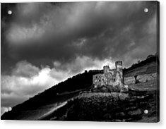 Burg Ehrenfels Acrylic Print by Justin Albrecht