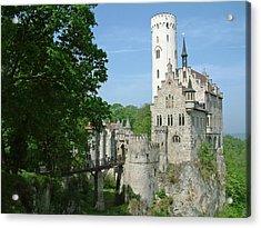 Burg Lichtenstein Acrylic Print by Joseph Hendrix