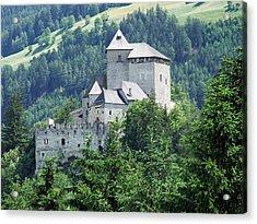 Burg Reifenstein Sterzing Italy Acrylic Print by Joseph Hendrix