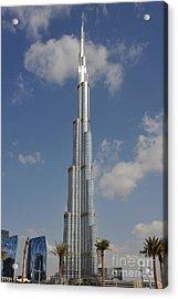 Burj Khalifa 2 Acrylic Print by Graham Taylor