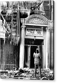 Burned Out Nation Of Islam Mosque No. 7 Acrylic Print