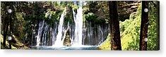 Burney Falls Panorama Acrylic Print