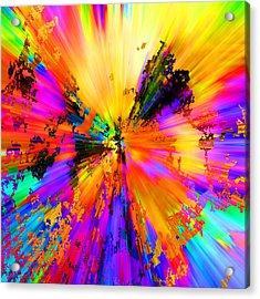 Burst Acrylic Print