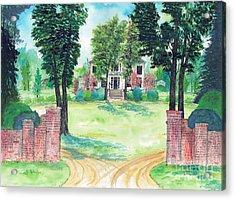 Burt-stark Mansion Acrylic Print