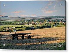 Burton Fleming Acrylic Print by David  Hollingworth