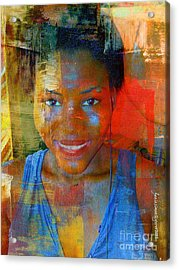 But Still Blessed Acrylic Print by Fania Simon