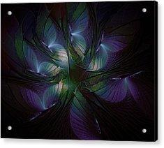 Butterfly Ball Acrylic Print by Amanda Moore