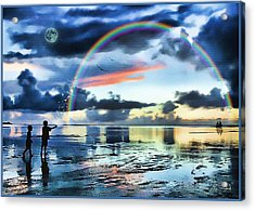 Butterfly Heaven Acrylic Print by Tom Schmidt