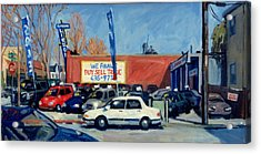 Buy Sell Trade Acrylic Print by Thor Wickstrom