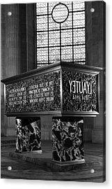 Bw France Paris Marshal's Lyautey Tomb 1970s Acrylic Print by Issame Saidi