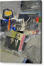 Acrylic Print featuring the painting By Any Means by Cliff Spohn