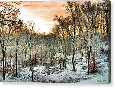 By Dawn's Early Light Acrylic Print by Kristin Elmquist