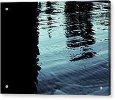..by The Lake.. Acrylic Print by Adolfo hector Penas alvarado