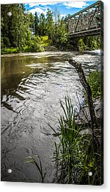 By The River Acrylic Print by Matti Ollikainen