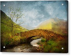 By The River Acrylic Print by Svetlana Sewell