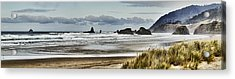 By The Sea - Seaside Oregon State  Acrylic Print by James Heckt