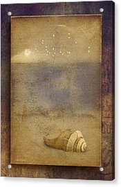By The Sea Acrylic Print by Ron Jones