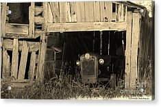 Acrylic Print featuring the photograph Bygone Era by Laurinda Bowling