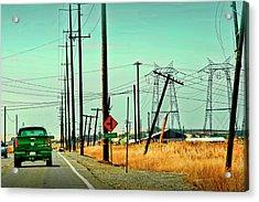Byron Highway Acrylic Print