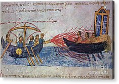 Byzantine Sailors  Acrylic Print