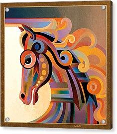 Caballo Acrylic Print