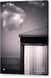 Cabin With Cloud Acrylic Print by Silvia Ganora