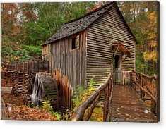 Cable Mill Acrylic Print by Charles Warren