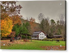 Cable Mill House Acrylic Print by Charles Warren