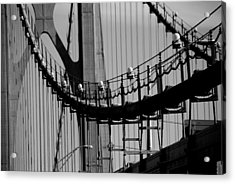 Cables Acrylic Print