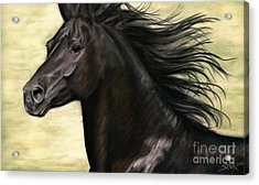Acrylic Print featuring the painting Cadence by Sheri Gordon