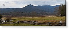 Cade's Cove - Smoky Mountain National Park Acrylic Print by Christopher Gaston