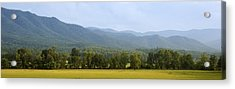 Cades Cove Acrylic Print by James Massey