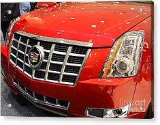 Cadillac . 7d9561 Acrylic Print by Wingsdomain Art and Photography