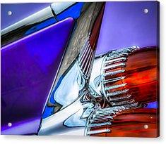 Cadillac Acrylic Print by Pattie  Stokes