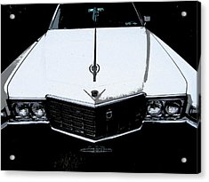 Acrylic Print featuring the photograph Cadillac Pimp Mobile by Kym Backland