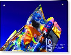 Cadillac Ranch 2 Acrylic Print by Bob Christopher